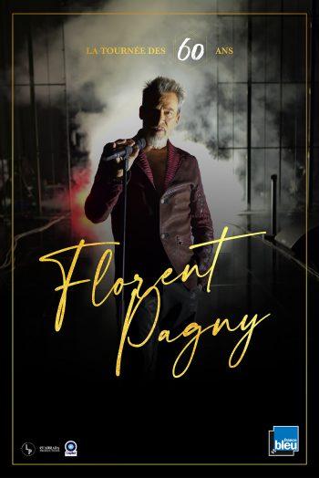 Affiche Florent Pagny concert Narbonne Arena tournée des 60 ans