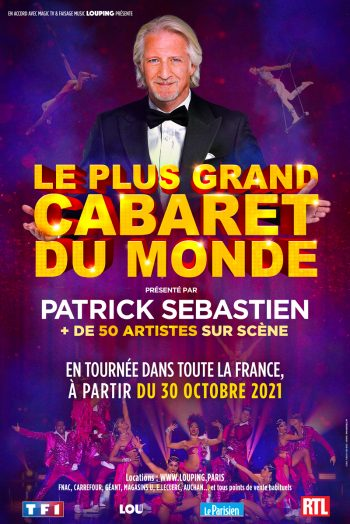 Affiche Le plus grand cabaret du monde spectacle Narbonne Arena