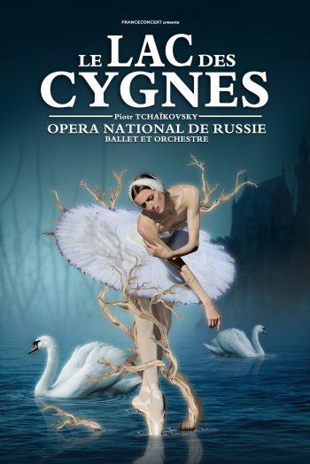 Affiche Le Lac des Cygnes ballet danse narbonne arena