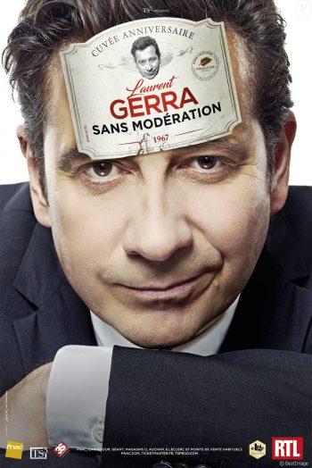 Affiche Laurent Gerra spectacle sans modération narbonne arena