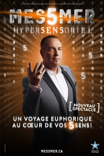 Affiche Messmer magie spectalce narbonne arena