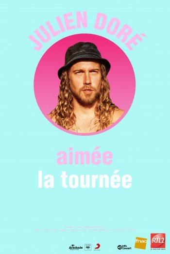 Affiche Julien Doré concert narbonne arena