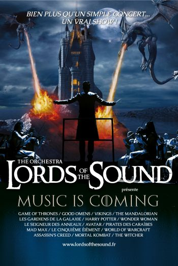 Lords of the sounds affiche spectacle Narbonne Arena